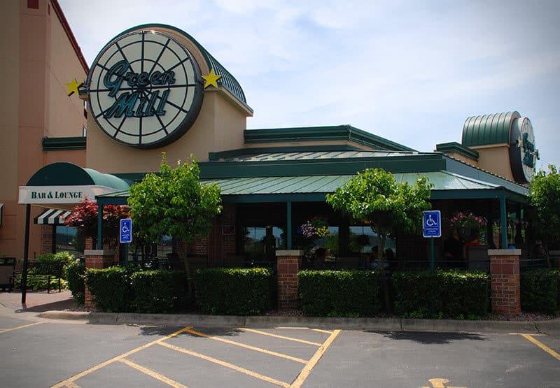Green Mill Restaurant exterior
