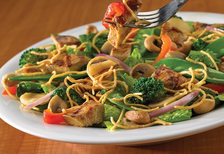 Green Mill thai salad